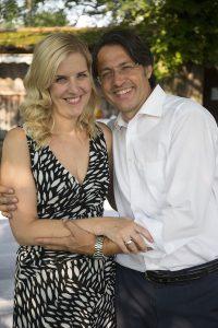 Christian G. Binder mit seiner Frau