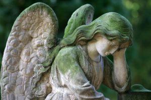 Christian G. Binder: Vorbereitung der Trauerfeier - Engel